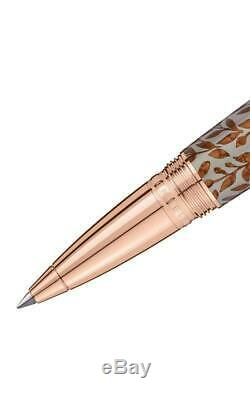 MontBlanc Boheme Moongarden Rollerball Pen Rose Gold Stone- Sold out- Stunning