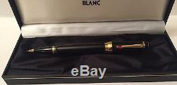 MontBlanc Boheme Rouge Rollerball Pen With Box & Booklets. No Reserve