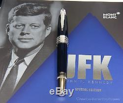 MontBlanc John F. Kennedy (JFK) Special Edition Rollerball/Fineliner NEW In BOX