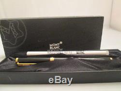 MontBlanc Noblesse Oblige Rollerball Pen in Black With 1 REFILL BRAND NEW RARE