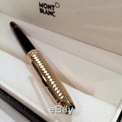 Montblanc 105987 Meisterstuck Solitaire Doue Geometric Capped Rollerball Pen