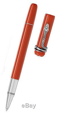 Montblanc 114726 Heritage Collection Rouge et Noir Rollerball Pen Authentic