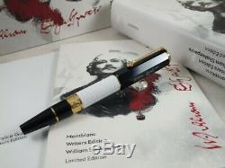 Montblanc 2016 Writer Limited Edition William Shakespeare Roller Ball Pen Sealed