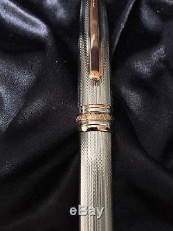 Montblanc 75th Anniversary 1924 Limited Edition Silver Solitare Rollerball 163GP