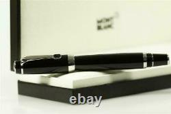 Montblanc Boheme Platinum Line Noir Silver Roller Ball New in Box. One Day Sale