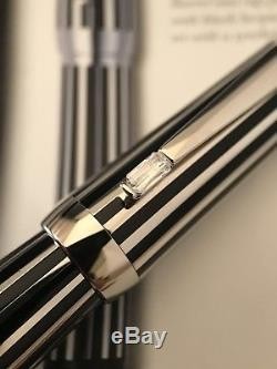 Montblanc Boheme Platinum Plated Crystal Rollerball Pen