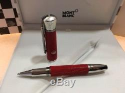 Montblanc Great Char. James Dean Special Edition Rollerball Pen #117890 New