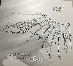 Montblanc Great Characters Limited Edition 2014 Leonardo DaVinci RollerBall Pen