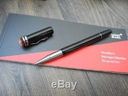 Montblanc Heritage Collection Rouge Et Noir Special Edition Rollerball Pen Mint