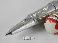 Montblanc Heritage Rouge&Noir Solitaire Serpent Limited Edition 1906 Rollerball