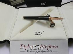 Montblanc Ingrid Bergman La Donna special edition rollerball pen + boxes NEW