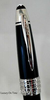 Montblanc JFK SPECIAL EDITION BLUE RESIN&PLAT PLATED REF111047 ROLLERBALL PEN