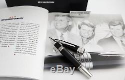 Montblanc John F. Kennedy Special Edition Navy Blue Rollerball #111047 NEW