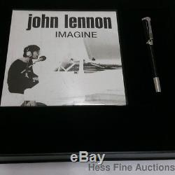 Montblanc John Lennon Special Edition Roller Ball Guitar Writing Pen Papers CNX