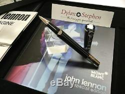 Montblanc John Lennon special edition rollerball pen + boxes NEW