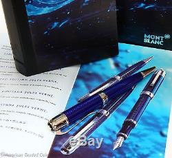 Montblanc Jules Verne Ballpoint pen 2003 limited Edition ALL NEW IN BOXES