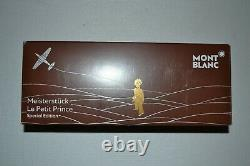 Montblanc Le Petit Prince & Aviator Rollerball in Brown NEW