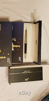 Montblanc Le Petit Prince of the Stars Classique Rollerball Pen Preowned & Box