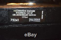 Montblanc Limited Anniversary Edition 1924 Rollerball 163 # 0064/1924