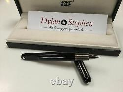 Montblanc M pen Marc Newson black rollerball pen + box + papers RRP £375