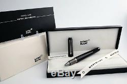 Montblanc Marc Newson M Precious Resin Ballpoint Pen #117419 With+Refill NEW