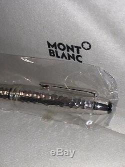 Montblanc Meist. Solitaire Martele Sterling Silver LeGrand Rollerball 115098
