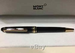 Montblanc Meisterstuck 163 Black and Gold Rollerball Pen Brand New Authentic