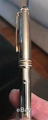 Montblanc Meisterstuck 75th Annivesrary LE 19/75 Solid 18k Gold Rollerball Pen