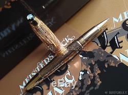 Montblanc Meisterstück 90 Years Red Gold Guilloche Limited Edition 90 Rollerball