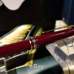 Montblanc Meisterstuck Classic Rollerball Pen 163r Bordeaux/burgundy