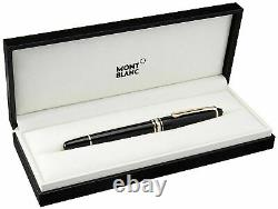 Montblanc Meisterstuck Classique Gold-Plated Rollerball Pen Authentic NEW 12890