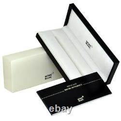 Montblanc Meisterstuck Classique Silver Black Rollerball Pen 2865 New in box