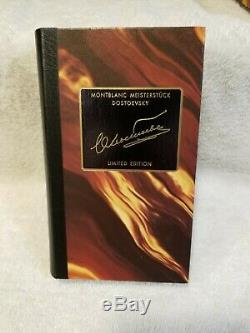 Montblanc Meisterstuck Dostoevsky Limited Edition Rollerball Pen withBox&Manual