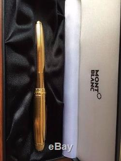 Montblanc Meisterstuck Gold Gorgeous Brand New Pen