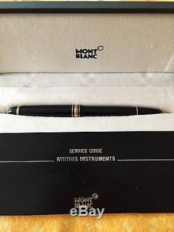 Montblanc Meisterstuck Le Grand 162 Black And Gold Roller Ball Pen