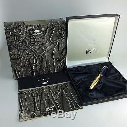 Montblanc Meisterstuck Ramses II LeGrand Rollerball Pen WithBoxes