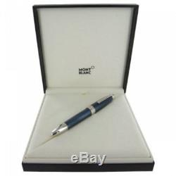 Montblanc Meisterstück Solitaire Blue Lacquer Hour LeGrand Rollerball Pen 112890