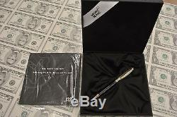 Montblanc Meisterstuck Solitaire Doue 164DS Sterling Silver Ballpoint Pen
