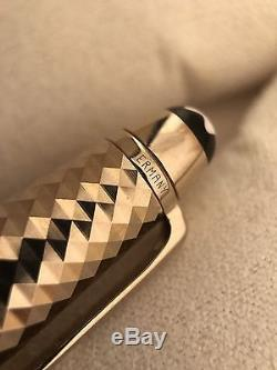 Montblanc Meisterstuck Solitaire Doue Geometric Dimension Rollerball Pen