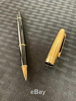 Montblanc Meisterstuck Solitaire Doue Gold Cap Rollerball Pen. Fathers Day Gift1