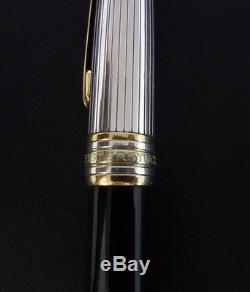 Montblanc Meisterstuck Solitaire Doue Sterling Silver Rollerball Pen