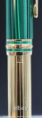 Montblanc Meisterstuck Solitaire Nikolai I Vermeil Le Grand Rollerball IN BOX