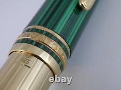Montblanc Meisterstuck Solitaire Nikolai I Vermeil Le Grand Rollerball Pen used