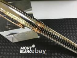 Montblanc Meisterstuck solitaire 75th anniversary LE silver rollerball pen