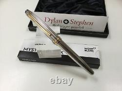 Montblanc Meisterstuck solitaire sterling silver 163 classique rollerball pen