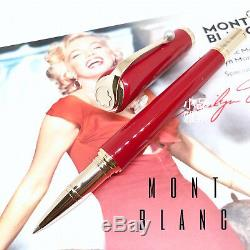 Montblanc Muses Special Edition Marilyn Monroe Roller Ball Pen