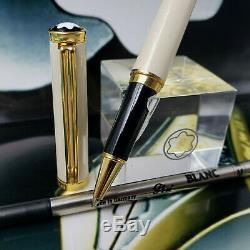 Montblanc Noblesse Oblige Cream/ivory & Gold Rollerball Nos