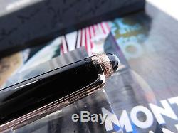 Montblanc Rollerball Pen 163 Limited Anniversary Edition 1924 Rose Gold