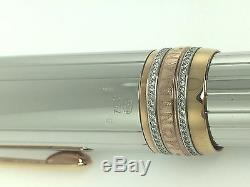 Montblanc Rollerball Pen Anniversary 75th Meisterstuck Limited Edition 18kt Gold