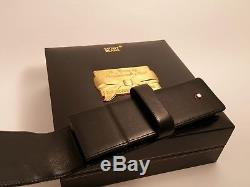 Montblanc Siena 75th Anniversary Limited Edition Leather Case In Original Box